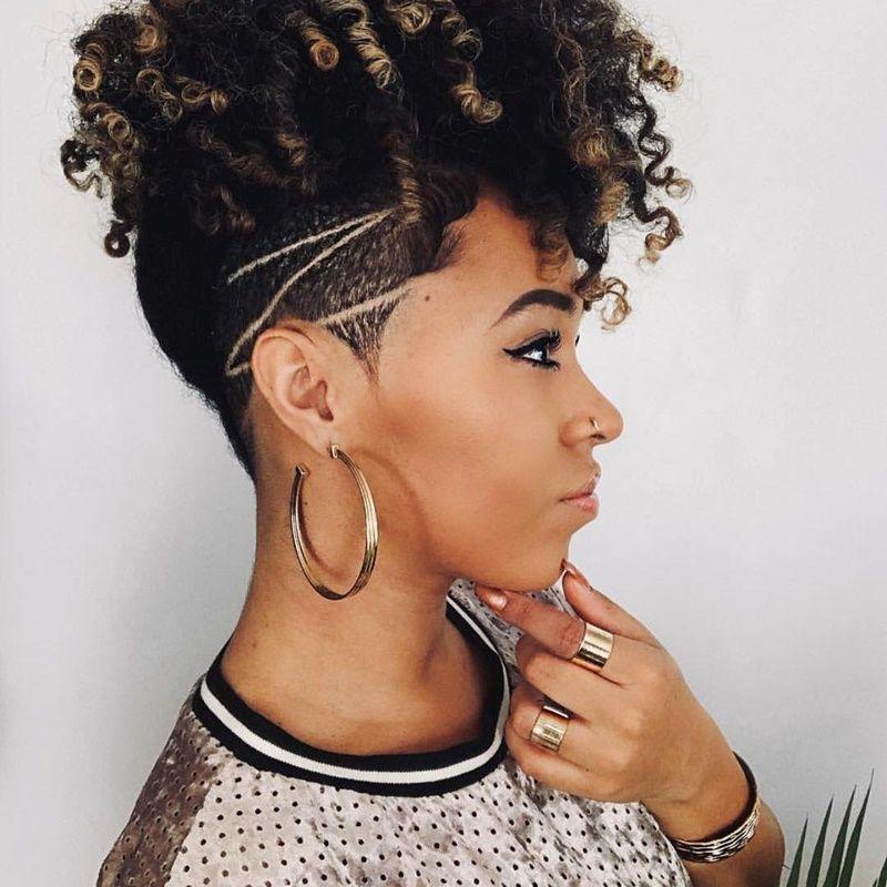 40 Short Hairstyles For Black Women December 2020 Natural Hair Styles Tapered Haircut Natural Hair Hair Styles
