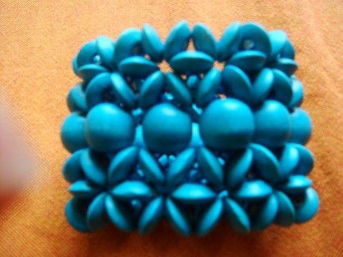 Colorful, Wooden Bracelets!