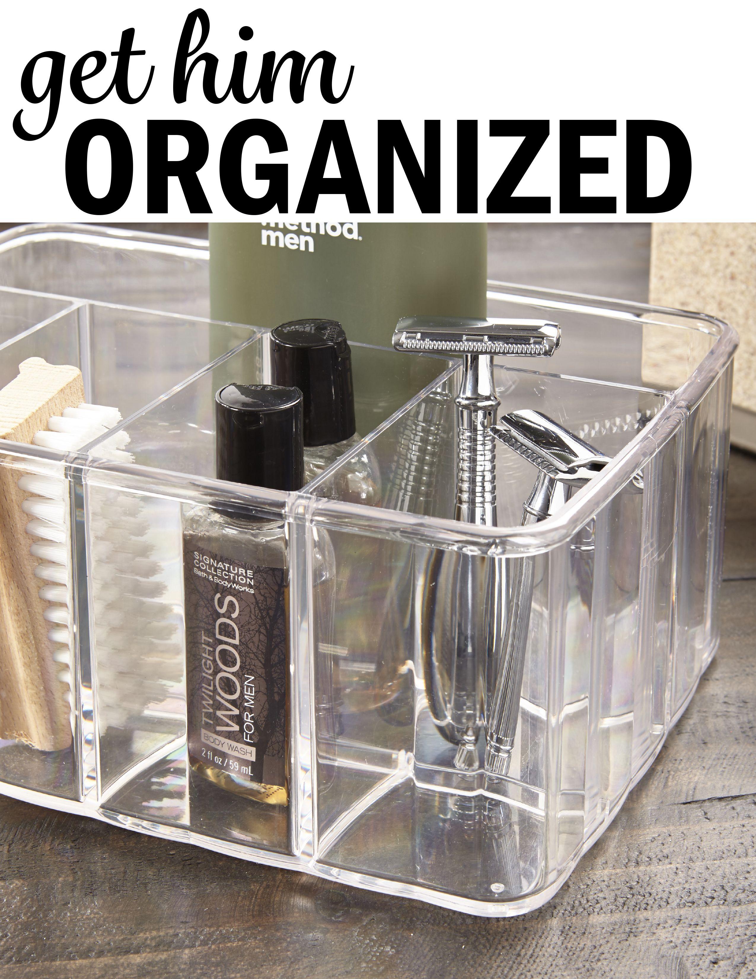 Great Organizer For Him Bathroom Counter Organization Bathroom Organisation Bathroom Counters