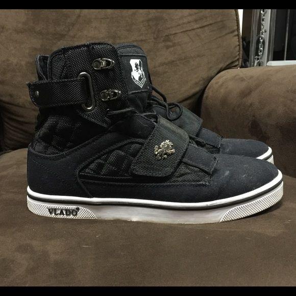 Men's Vlado high top shoes Vlado Hightop shoes, size 9 in