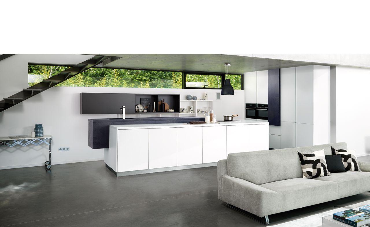 Kitchen design striped gloss arcos edition kitchen for Conception cuisine schmidt