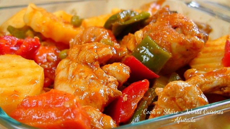 Chicken afritada recipe filipino foods and recipes filipino chicken afritada recipe filipino foods and recipes forumfinder Gallery