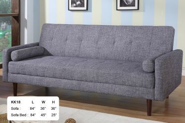 Ah18 Gray Sofa Bed With Images