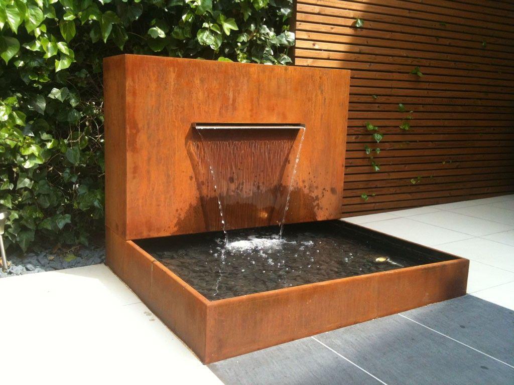 Resultado de imagen para cascadas artificiales para jardin for Cascadas de jardin