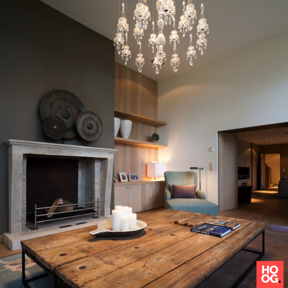 Modern landelijk interieur met luxe meubels | interieur ideeën ...