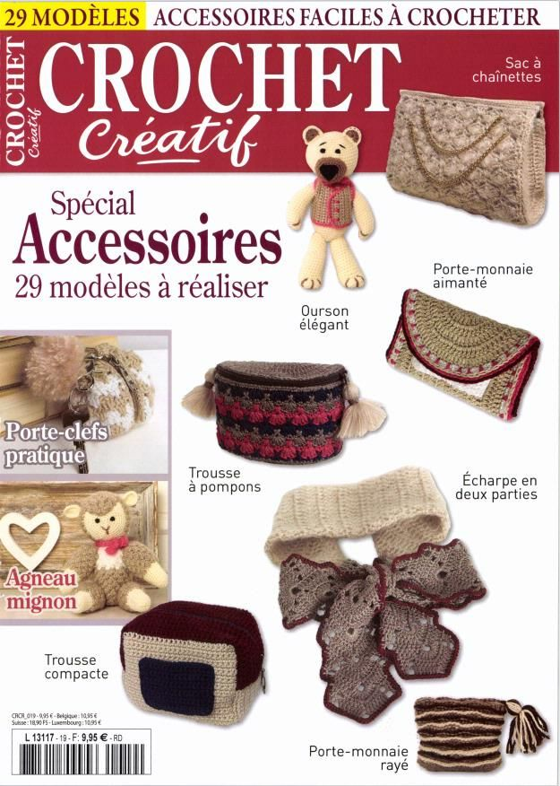 Crochet Créatif | Knitting magazines | Pinterest | Revistas