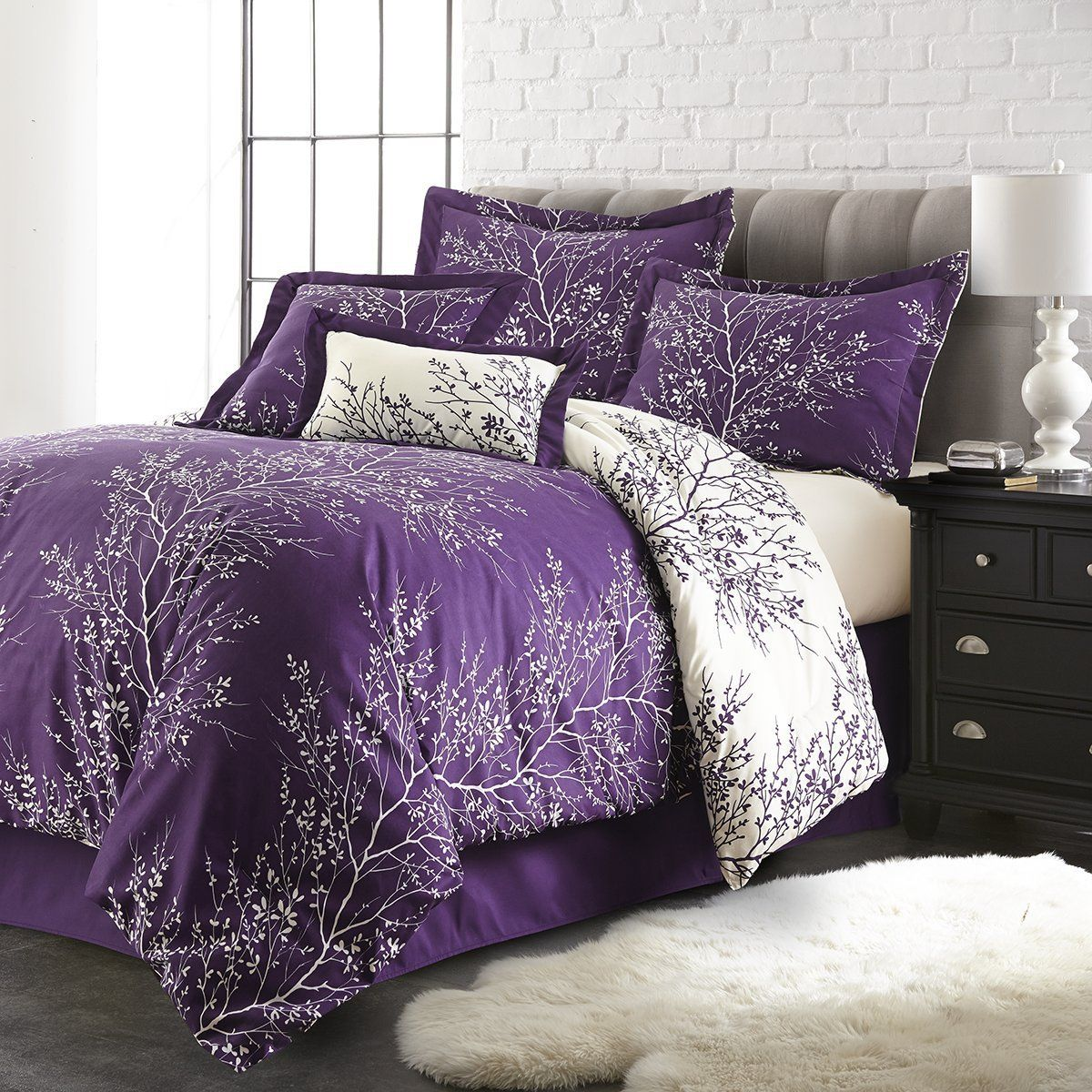 Spirit Linen Hotel 5Th Ave 6Piece Foliage Collection
