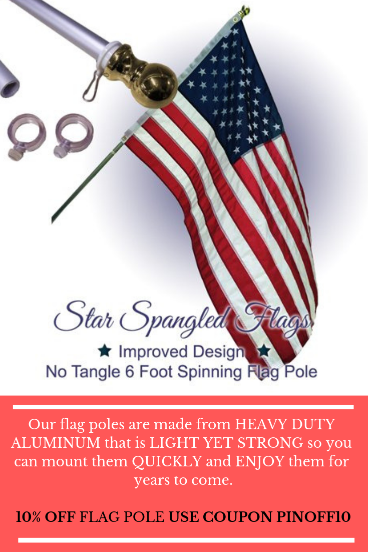 Flagpoles Sales Buy Best Star Spangled Flags Flag Pole Cool Things To Make Best Flags