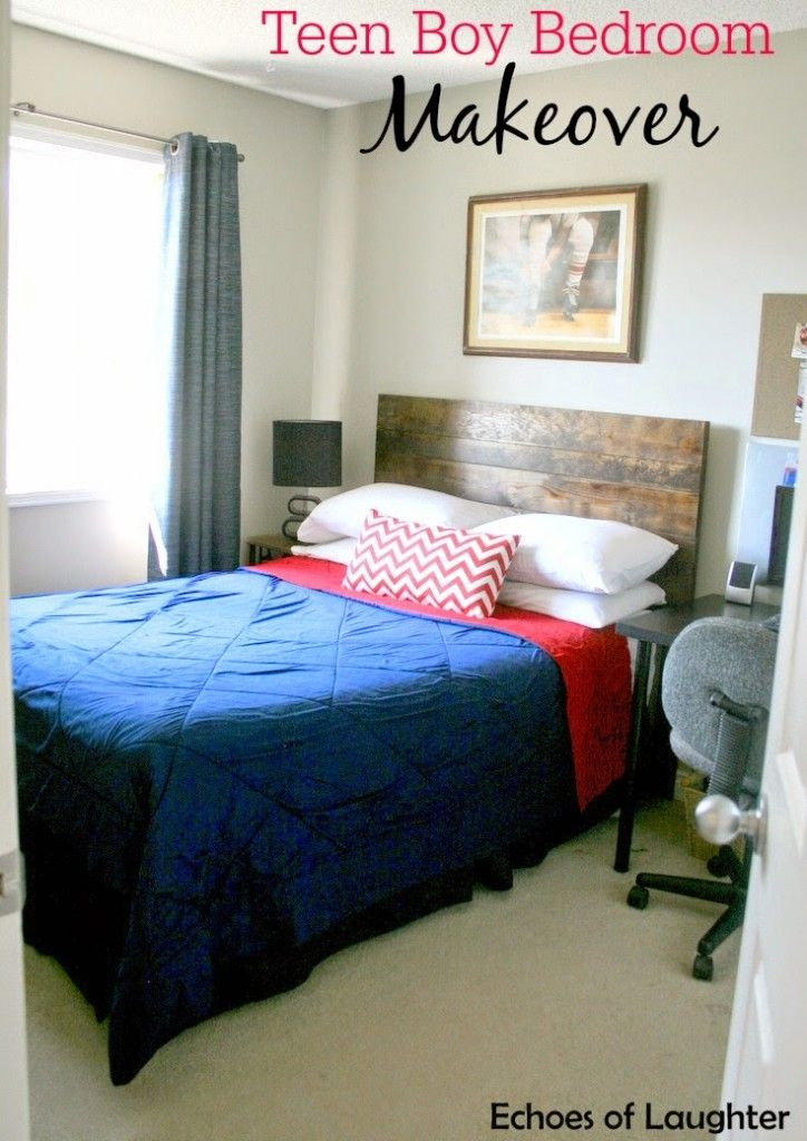 Boy Bedroom Makeover Echoes Of Laughter