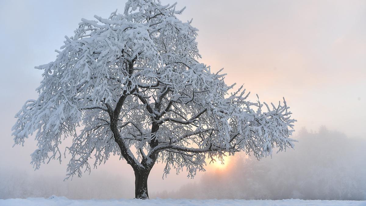 Teils Schnee, teils Sonnenschein: Fast überall ist Dauerfrost angesagt