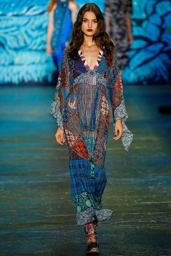 56d23439997 Anna Sui Spring 2016 Ready-to-Wear Fashion Show in 2019