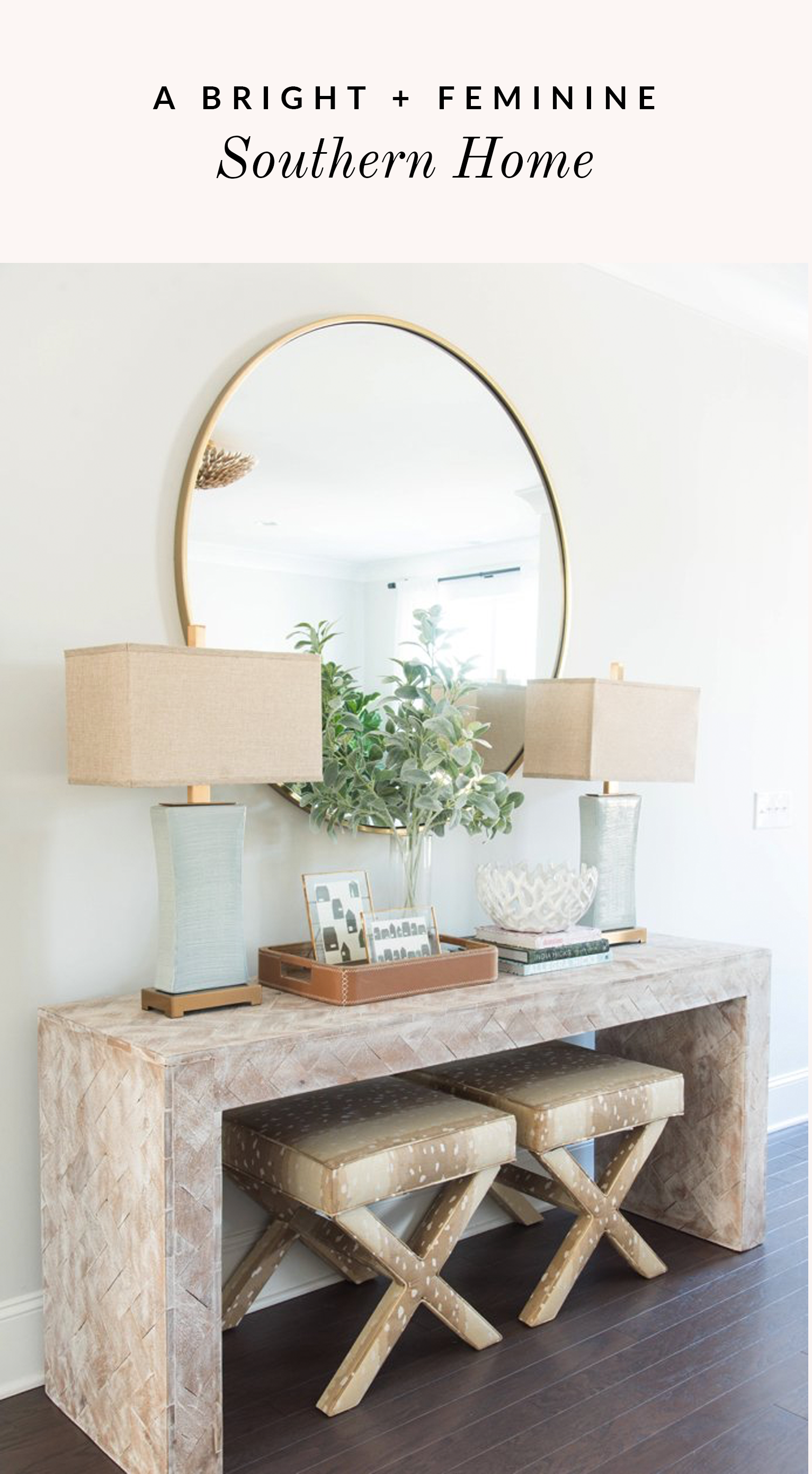 See Why We\'re Swooning Over This Light & Feminine Charleston Home ...
