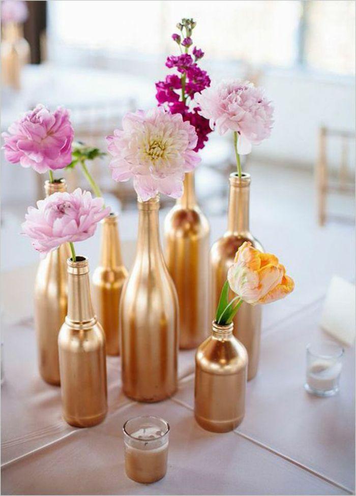 Blumenel Selber Machen tischdekoration ideen schöne tischdeko hochzeitsdeko selber machen