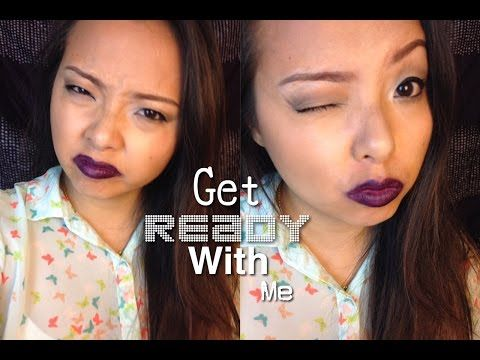 Get Ready With Me - YouTube Vampy Lips