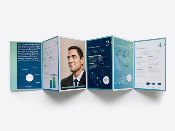 IMA/CMA by Darien Birks, via Behance corporate design