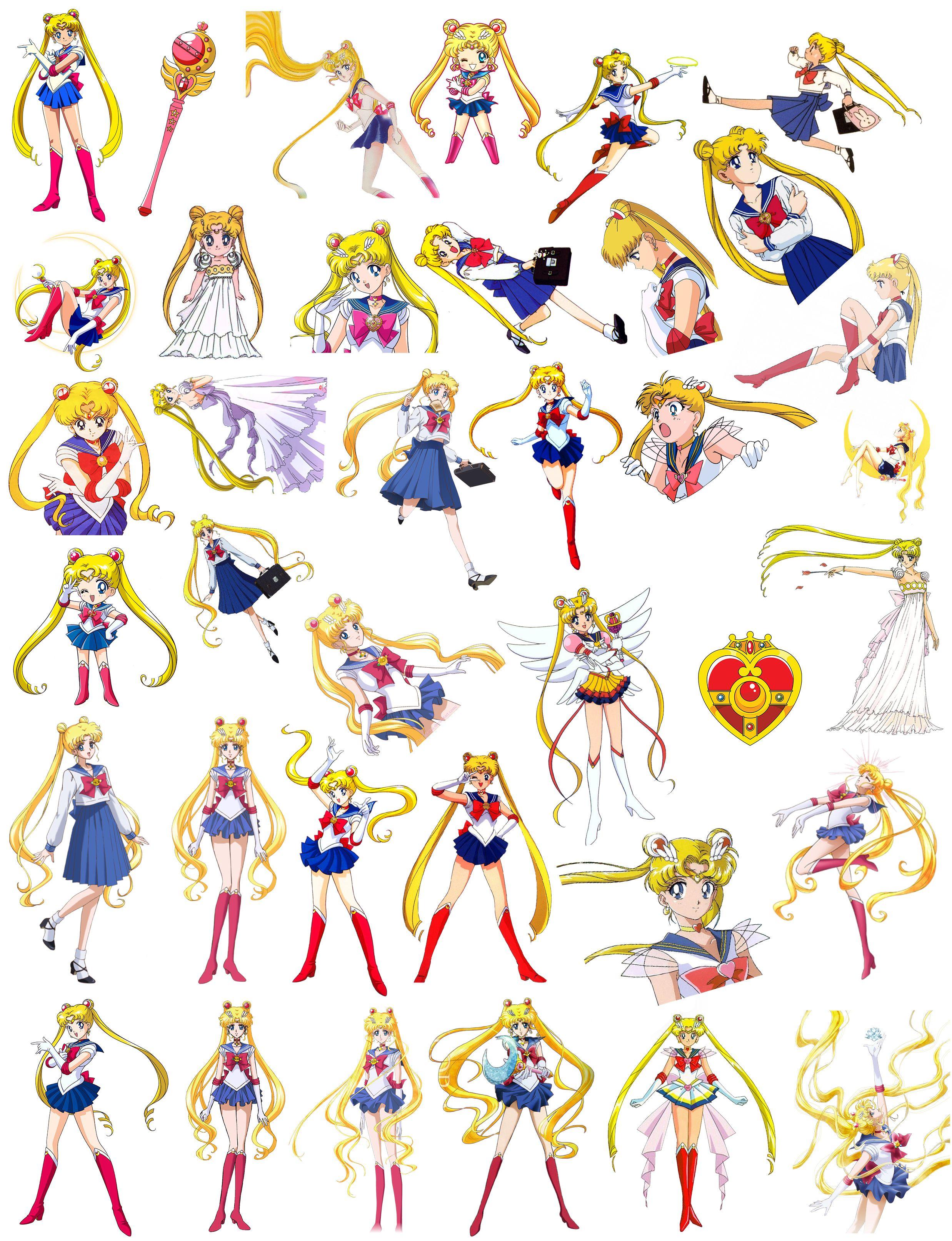Sailor Moon Bunny Sheets