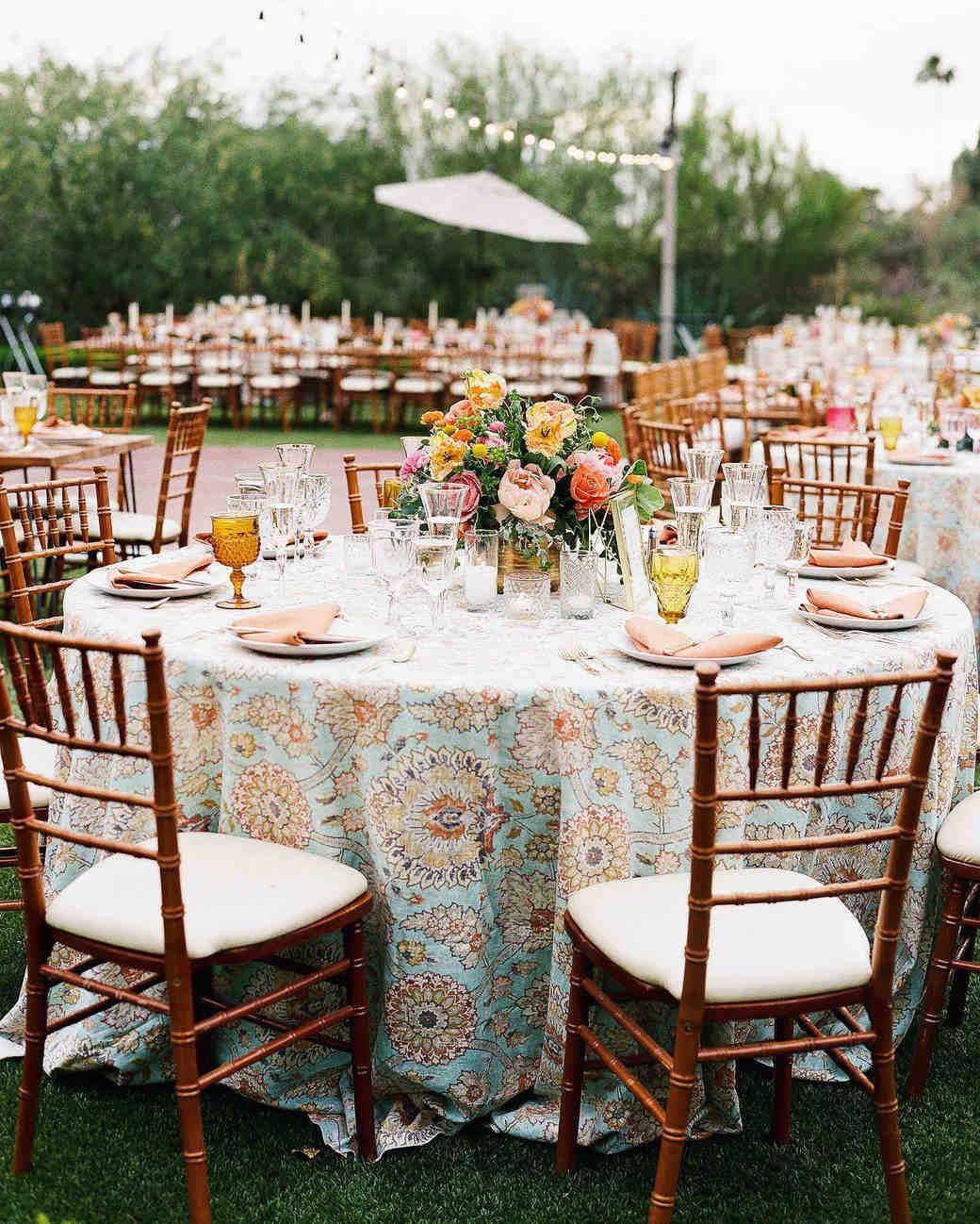 A Bright Wedding In Arizona With Boho Touches Wedding