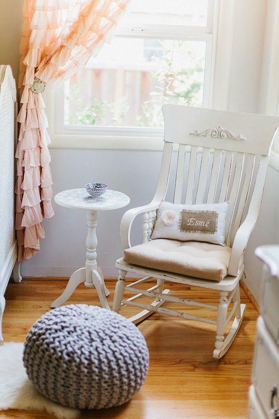Vintage Home Style: Mecedora vintage Mocholi | Silla mecedora para ...