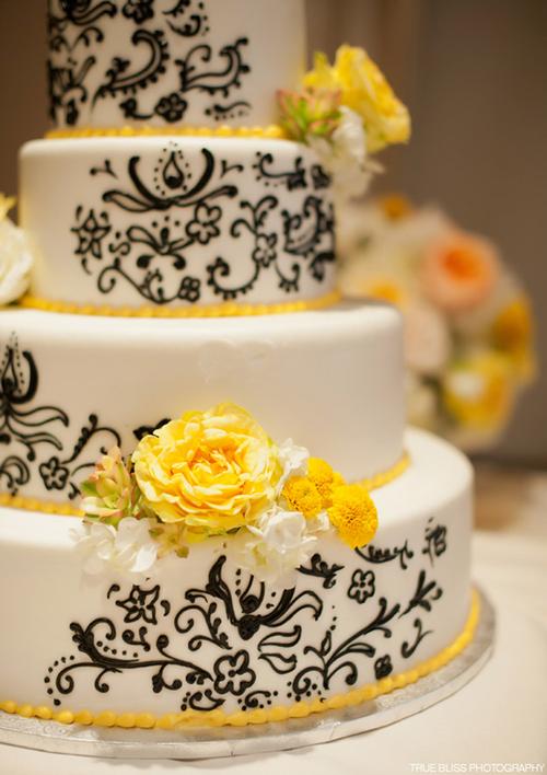 Like the yellow   Weddings   Pinterest   Wedding cake, Cake and Weddings
