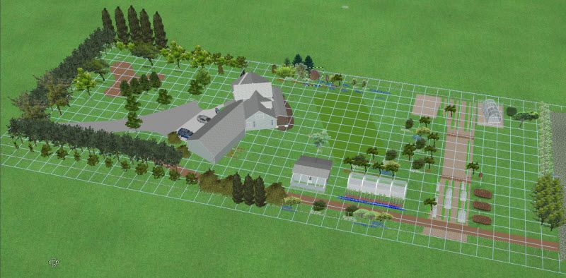 Cattle acreage design layout google search farm layout for 1 acre farm layout