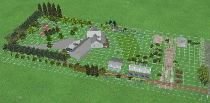 5 Acre Homestead Layout View Original Image Farm Layout Farm Plans Farm Design