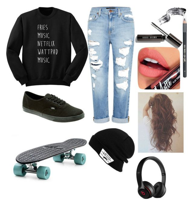 """""""Untitled #2"""" by lets-run-to-the-sea on Polyvore featuring Genetic Denim, Barry M, Fiebiger, Vans and Beats by Dr. Dre"""