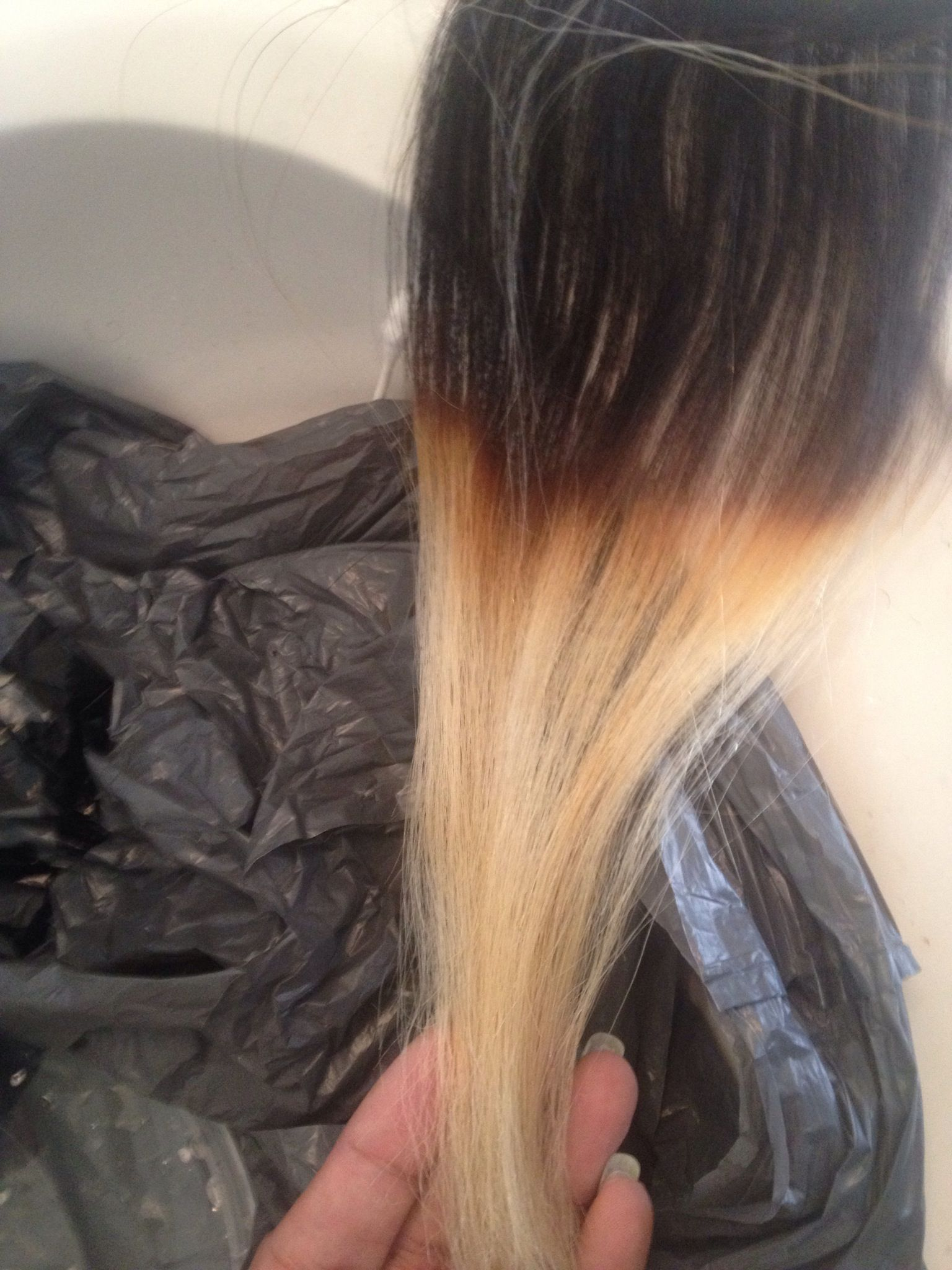 How To Bleach Hair Extensions Recipe Beauty Pinterest