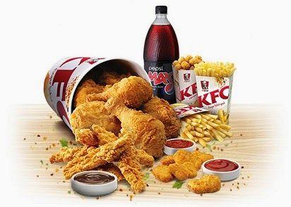 Daftar Harga KFC Bucket Terbaru,   Kfc, Ayam goreng, Ayam