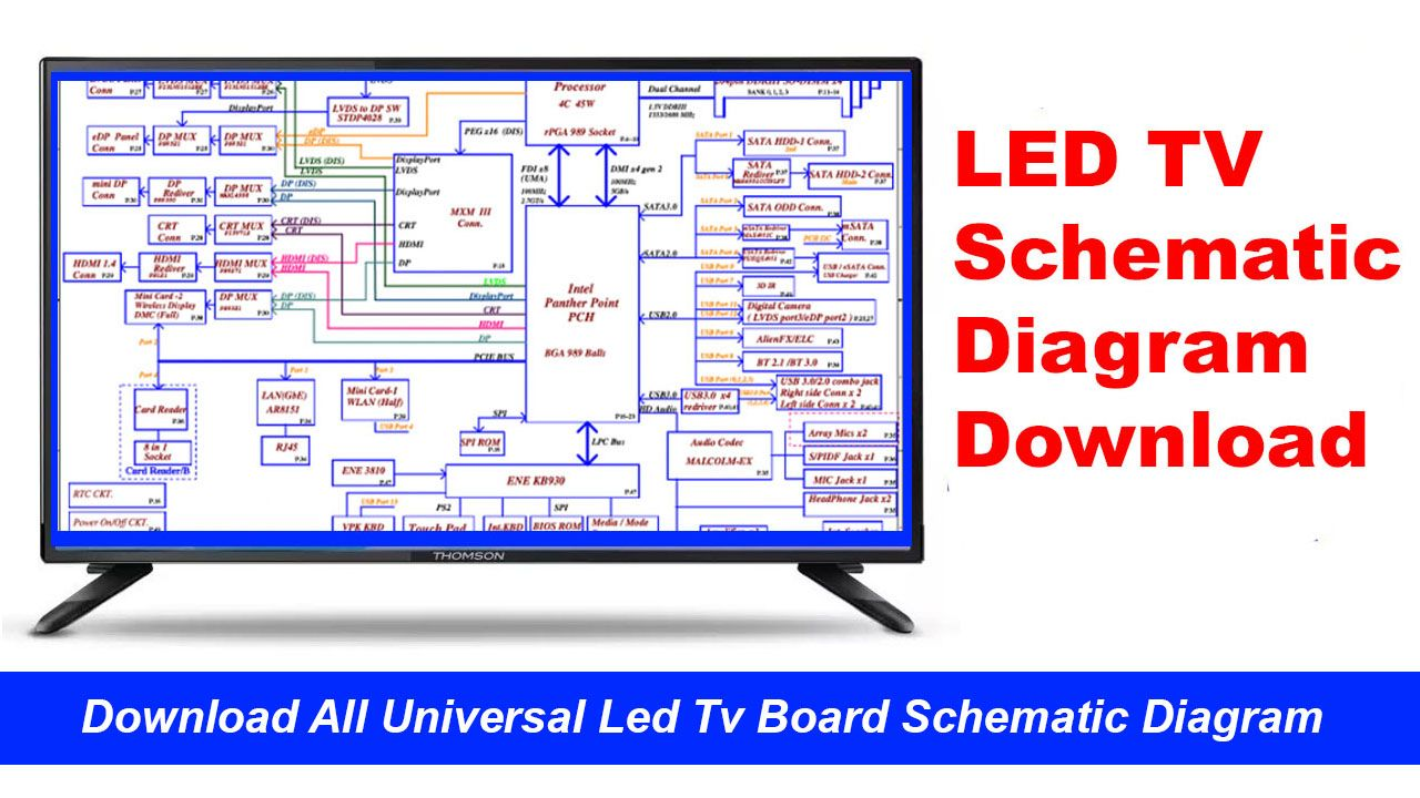 Lcd Led Tv Board Schematic Diagram Here Are Available Some Best Smart Universal Led Tv Board Schematic Diagram And Service Manual Led Tv Sony Led Sony Led Tv