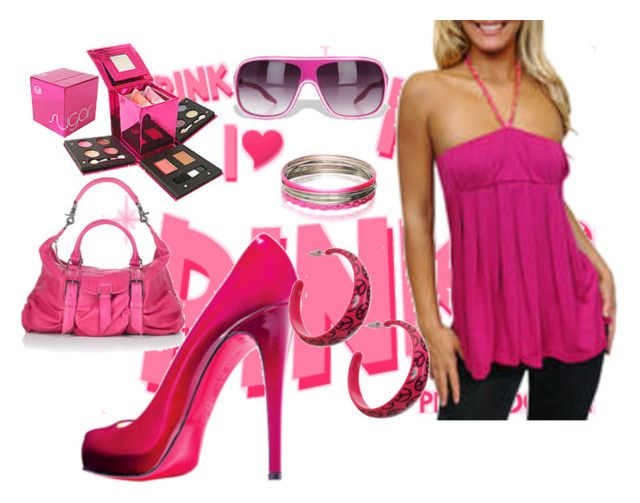 """""""pink set"""" by sophie5 ❤ liked on Polyvore featuring Spy Optic, Wet Seal, Kirra, Guide London and ASOS"""