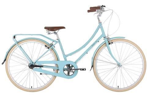 Bobbin Bicycles Birdie 8 Luxe 2016 Womens Hybrid Bike Blue