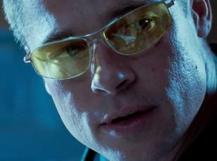 ada7addec1 Brad Pitt wearing Oliver Peoples Nitro in Mr. and Mrs. Smith