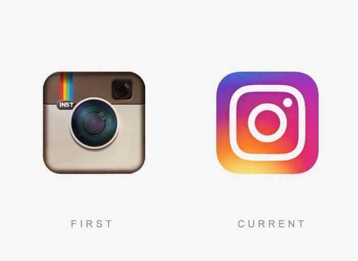 logo instagram avant
