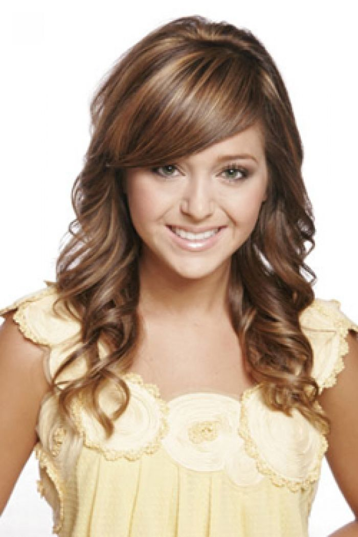 Women Hairstyles Long Hairstyles For Women  Women Wavy Long Hairstyles With Bangs