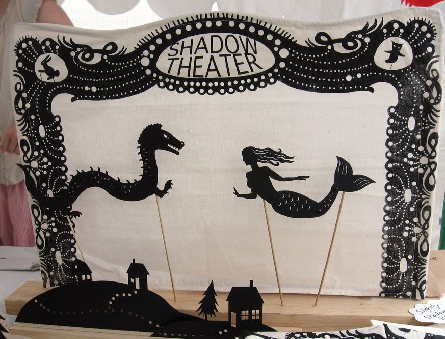 how to create a shadow show