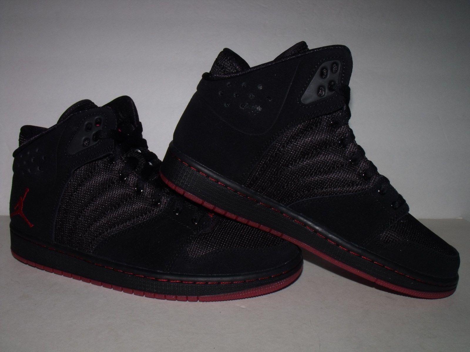 Nike Jordan 1 Flight 4 Mens Casual BASKETBALL Shoe (Black