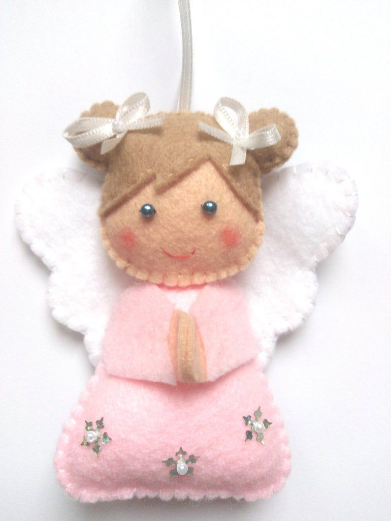 Felt Angel Ornament Christmas Decor Handmade Christmas Gift Etsy Handmade Christmas Gifts Felt Christmas Ornaments Handmade Christmas