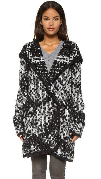 Diane von Furstenberg Mercer Sweater Coat | SHOPBOP