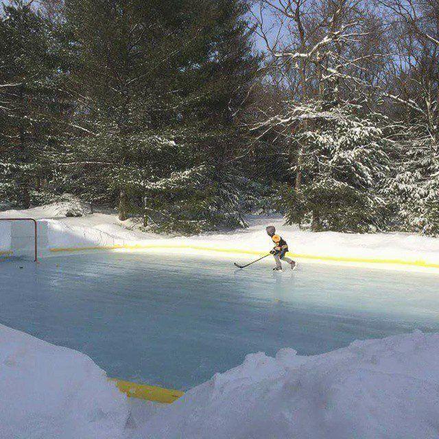 NiceRink Backyard Ice Rink Kit | Gifts | Backyard ice rink ...