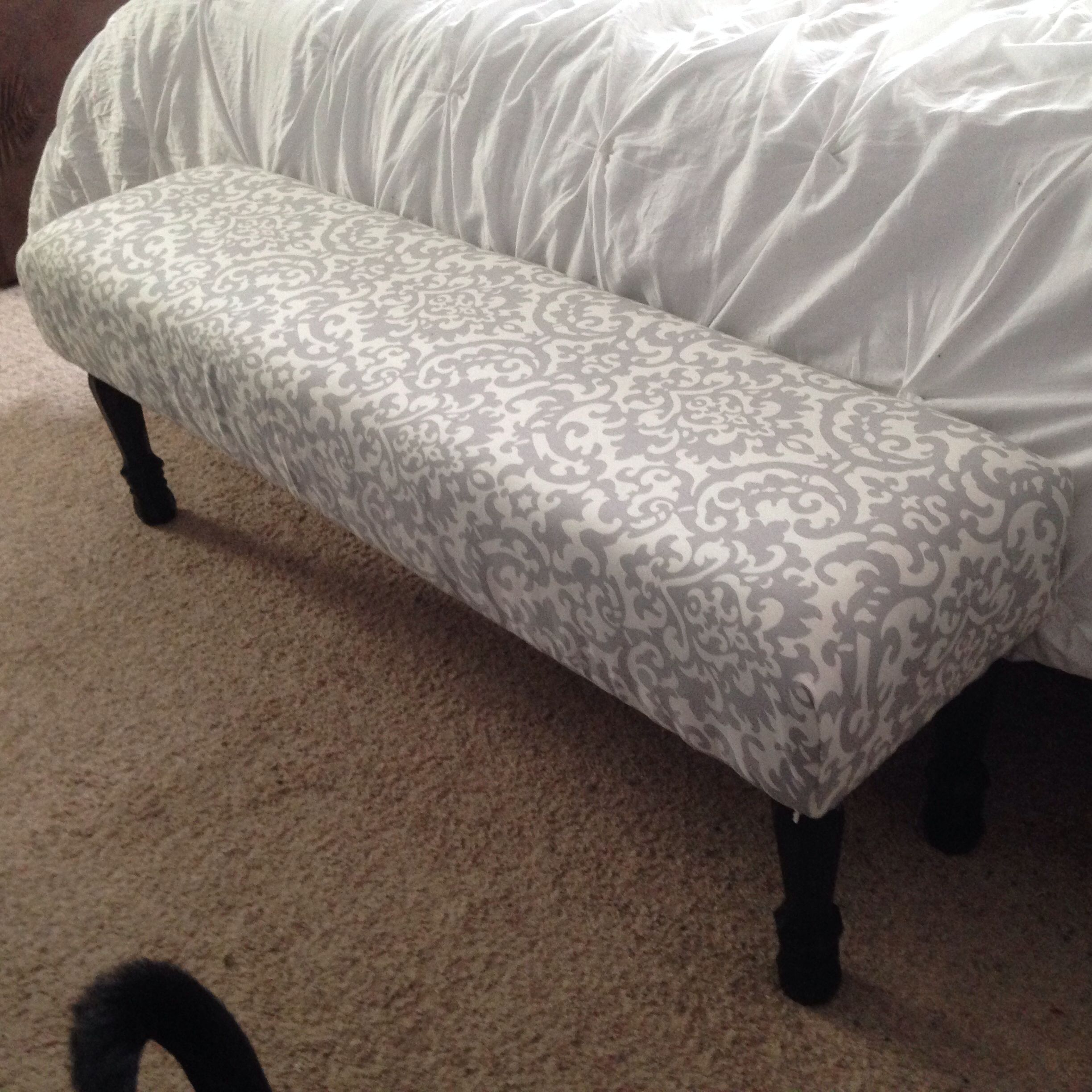Diy End Of Bed Bench Barb 39 S New House Pinterest