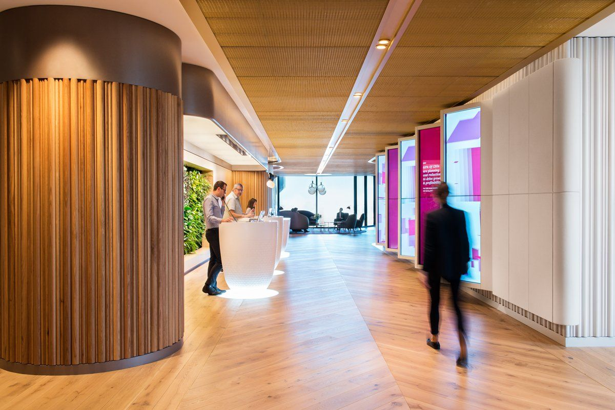 Office Tour PwC Offices Sydney Corporate interiors
