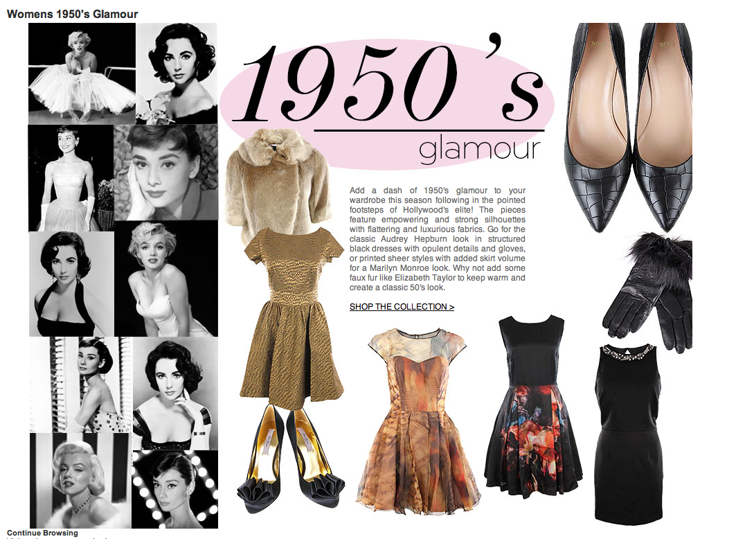 Vintage 1950s Women's Fashion | 1950 Fashion Women Psyche ...