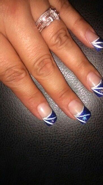 Dallas cowboy nails nail art pinterest dallas cowboys nails dallas cowboy nails prinsesfo Image collections