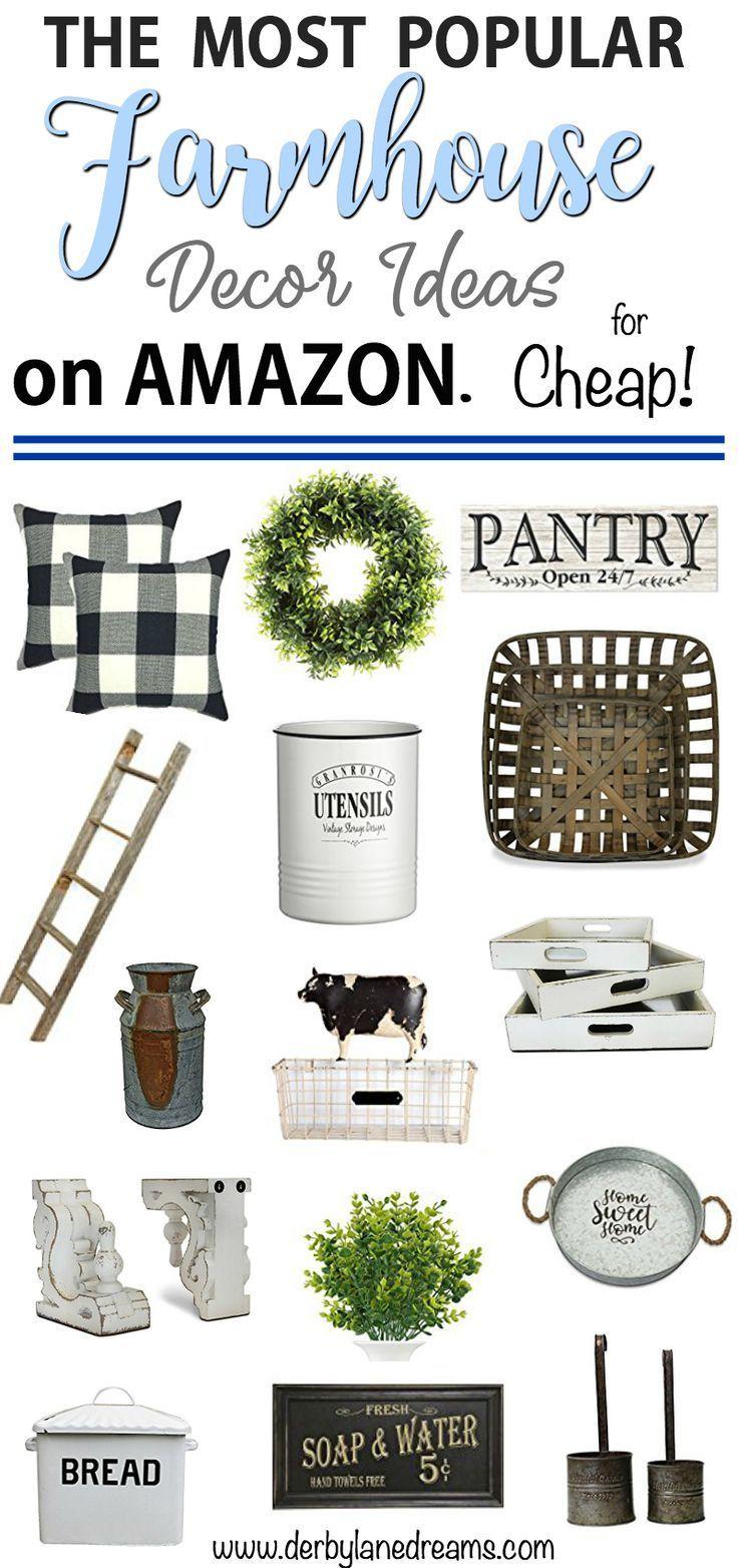 farmhouse decor ideas on a budget farmhouse kitchen rustic country and diy home decor ideas. Black Bedroom Furniture Sets. Home Design Ideas