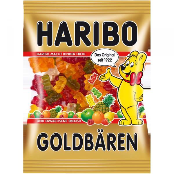 Haribo Goldbaren Gold Bears Gummi Candy 200g Fruit Gums Gummy Candy Haribo Gummy Bears