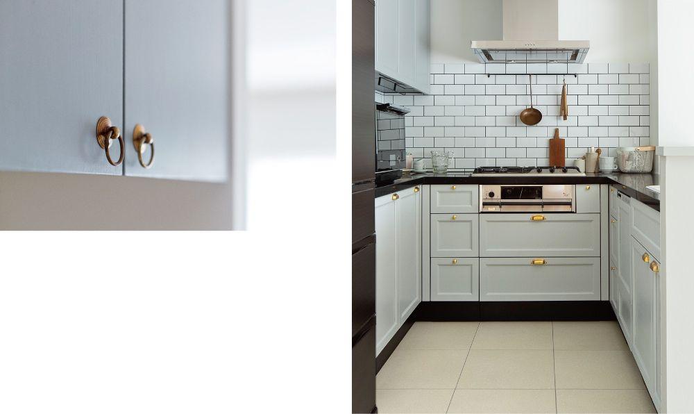 大きなu型キッチンが素敵な多収納な住まい Den Plus Egg デン プラスエッグ Den Plus Egg デン プラスエッグ キッチン 収納 洋室