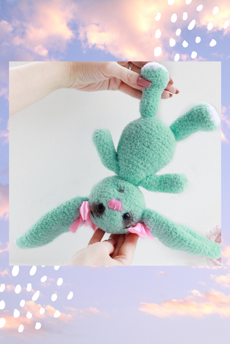 Crochet Amigurumi Bunny Toy Free Patterns Instructions | 1102x735