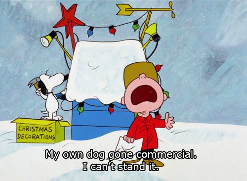 Don't fall into the trap of consumerism. | Charlie brown christmas, Snoopy christmas, Peanuts ...