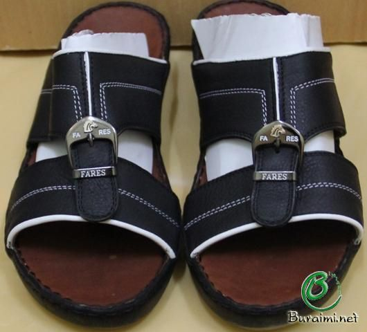 Men's Sandals Arabic Arabian Style Hand Made Slide Sandal Shoes .