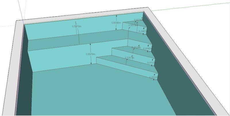 R sultat de recherche d 39 images pour piscine escalier d - Escalier d angle piscine beton ...